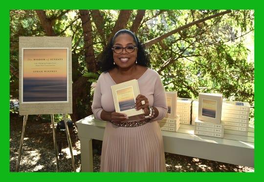 Oprah Winfrey attends Oprah Winfrey's Gospel Party celebrates her new book