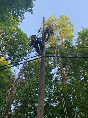 Gulf Power crews spent almost a week in New Jersey, assisting FirstEnergy with restoration following Hurricane Isaias. The team restored power to approximately 7,000 customers.