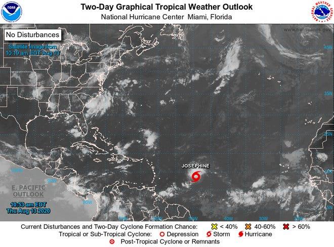 Tropical Storm Josephine