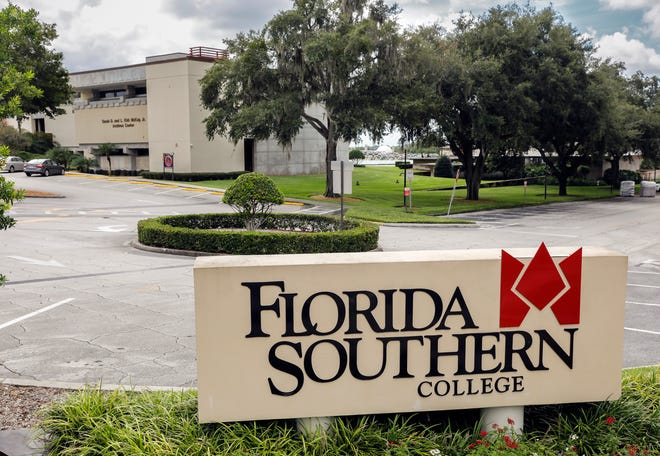 Florida Southern College in Lakeland, Aug. 13, 2020.