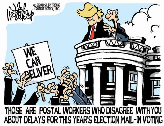 Editorial Cartoon for Saturday