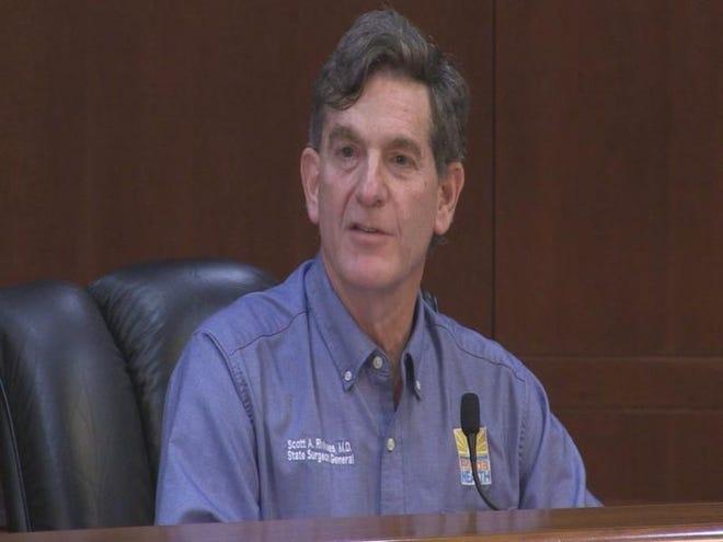State Surgeon General Scott Rivkees