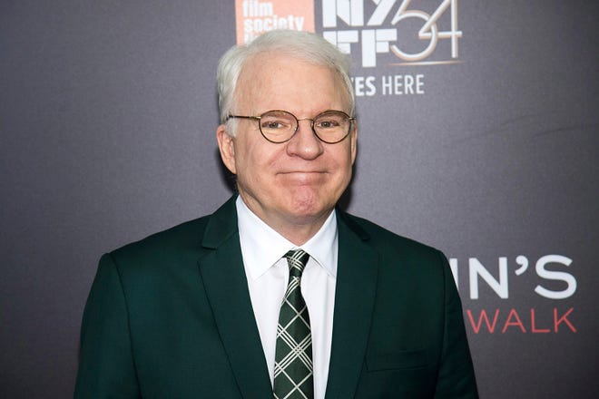 Comedian-actor Steve Martin is turning 75. [Charles Sykes/Invision/AP]