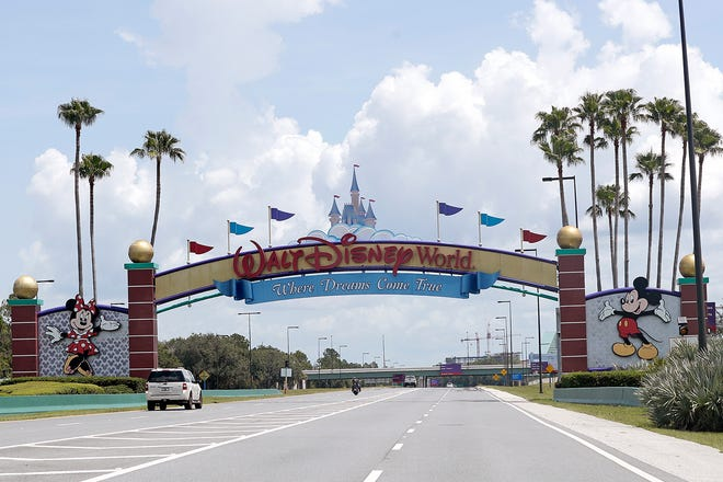 After Disney agreed to have a state-run drive-thru COVID-19 testing site for workers and the public at the Florida theme park resort, theActor's Equity Association signed a memorandum of understanding allowing the actors, singers and stage managers to return to their jobs. [John Raoux/The Associated Press]