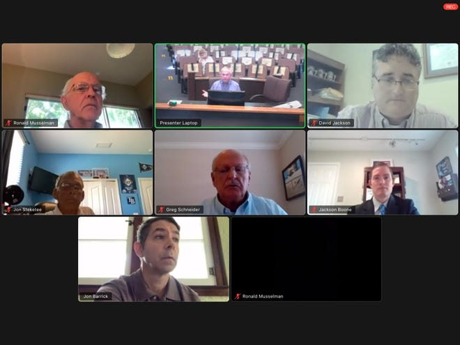 More virtual government meetings, like this one of the Venice Architectural Review Board, may actually be increasing the ability of citizens to participate. HERALD-TRIBUNE ARCHIVE