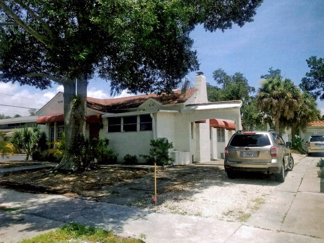 The Venice Architectural Review Board has approved the demolition of this house at 233 Pensacola Road, which was built in 1927. [PHOTO PROVIDED BY THE CITY OF VENICE]