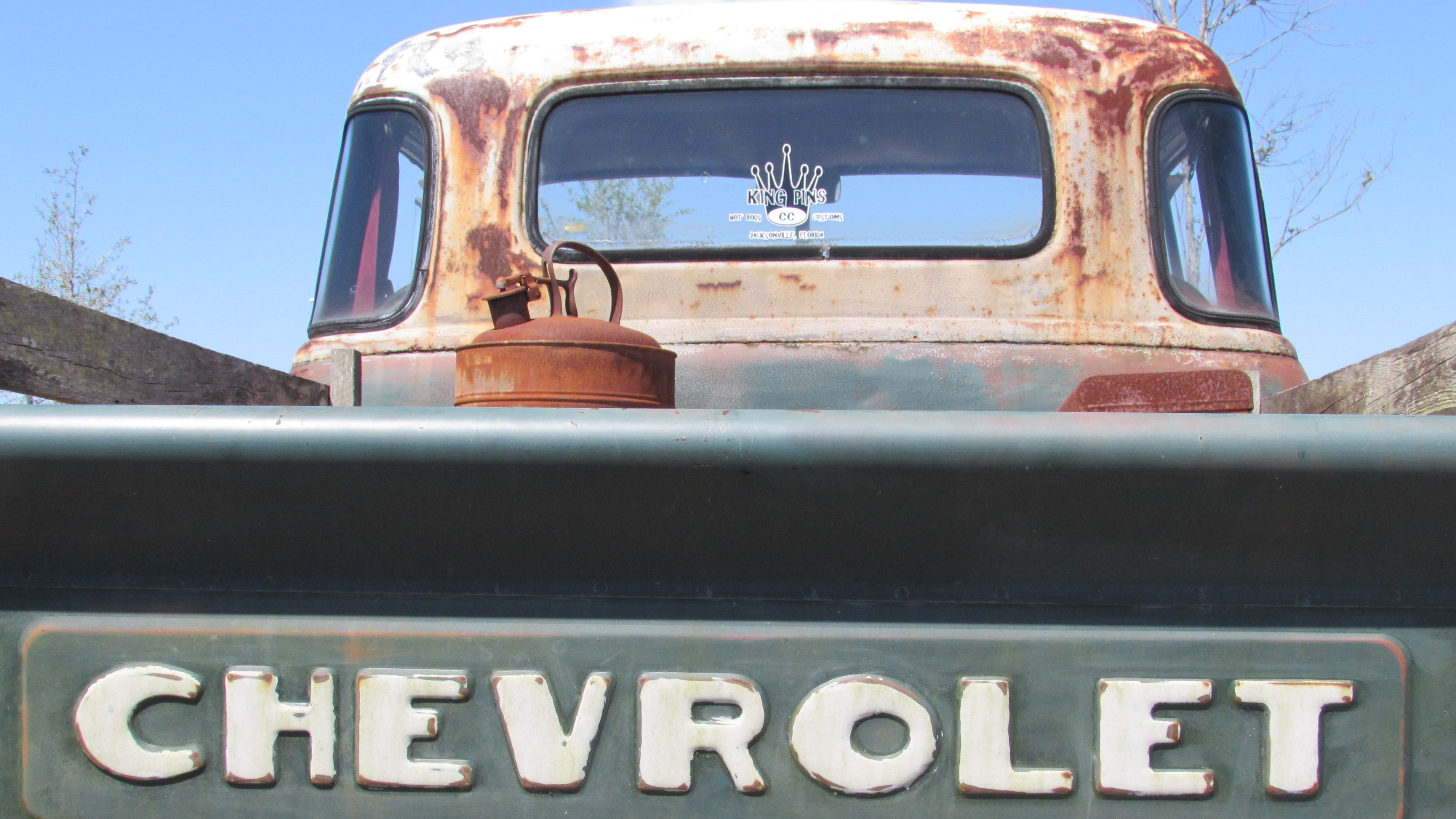A Chevrolet truck proves beauty is in the eye of the beholder.