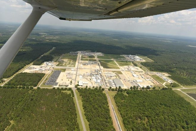 The Chemours Co. plant is on the Cape Fear River near the Cumberland-Bladen county line. The company this month reached a new agreement with the state and environmentalists to curb its emissions of PFAS chemicals into the river.