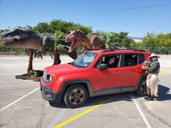 Jurassic Quest Drive-Thru Experience happens at Coney Island through Aug. 30.