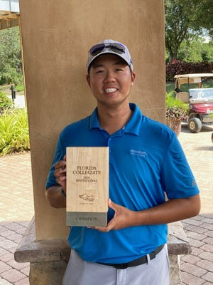 Incoming Cal freshman Sampson Zheng birdied the second hole of a playoff to win the Florida Collegiate Invitational at Old Corkscrew on Tuesday.