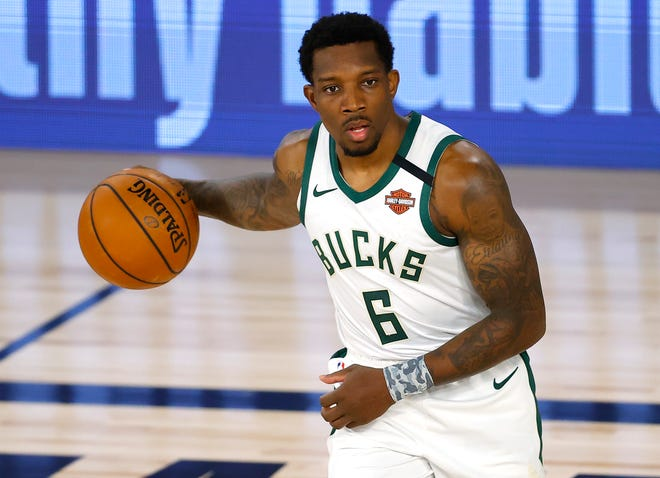 Bucks guard Eric Bledsoe