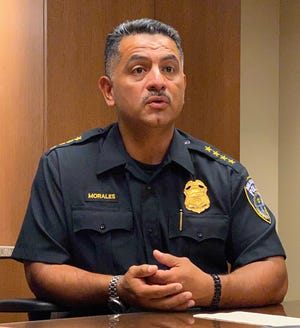 Former Milwaukee Police Chief Alfonso Morales, shown in July 2020, is expected to return to his position as chief on Monday after settlement talks with the City of Milwaukee broke down.