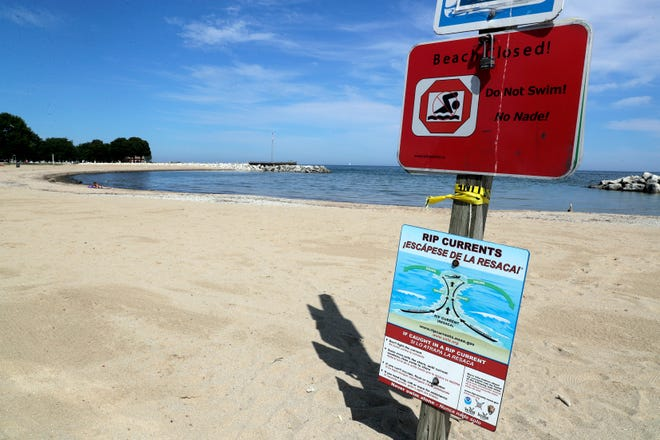 Milwaukee County Parks closed McKinley Beach for the rest of the 2020 season due to riptide hazard. The closing comes after three people recently drowned at McKinley.