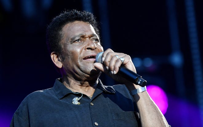 Charley Pride performs during the CMA Fest on June 8, 2018, at Nissan Stadium in Nashville.