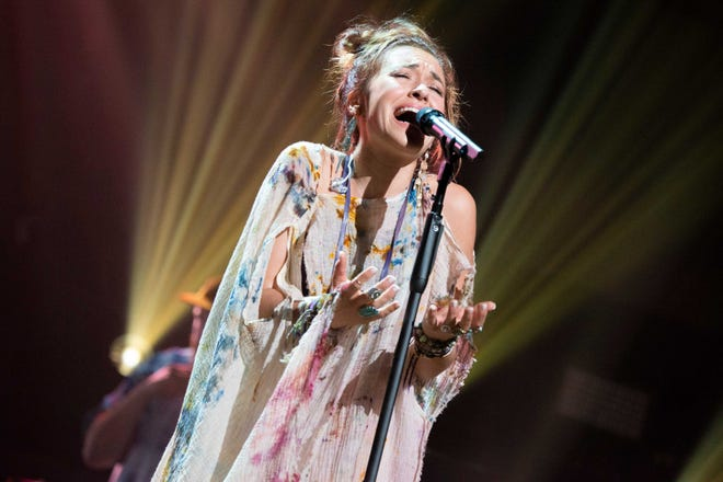 Lauren Daigle appeared at the 51st annual GMA Dove Awards in Nashville on Oct. 20.