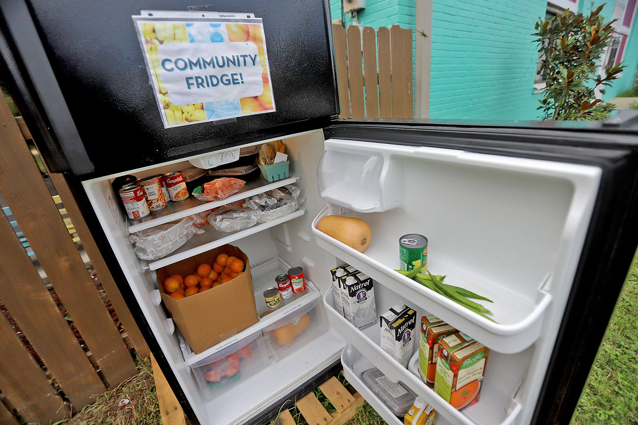 New Orleans Groups Fight Covid Food Insecurity With Community Fridges