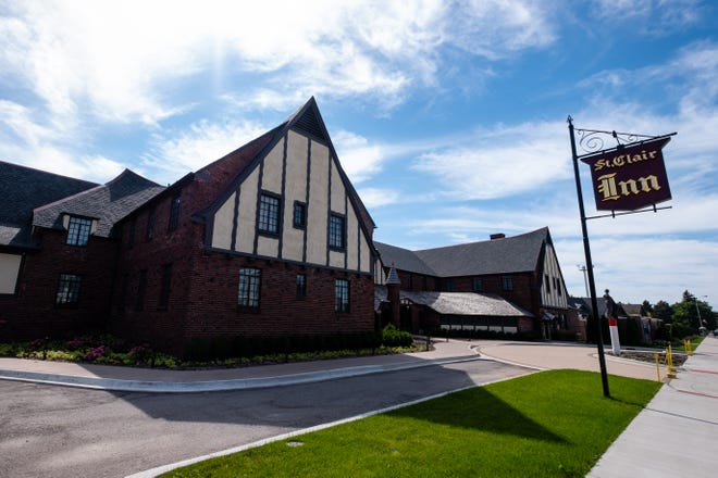 While staff at the St. Clair Inn can't serve guests due to the coronavirus pandemic, they've been doing construction instead. Jeff Katofsky, who developed the inn, said the third floor of the north tower and the SkyBar are about 60 percent complete.