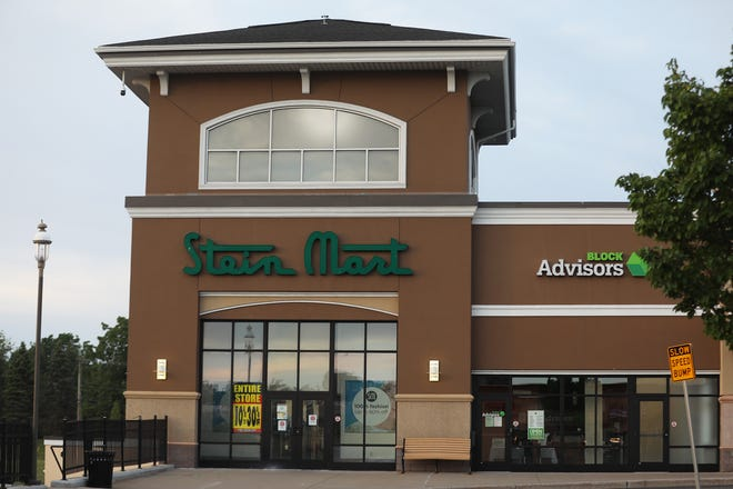 Stein Mart, that filed for bankruptcy, is closing all its stores.  The store in Pittsford Plaza shows the current markdowns on August 13, 2020.