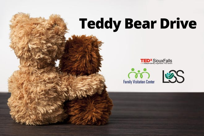 A logo for the Teddy Bear Drive, starting Thursday and running through Aug. 19.
