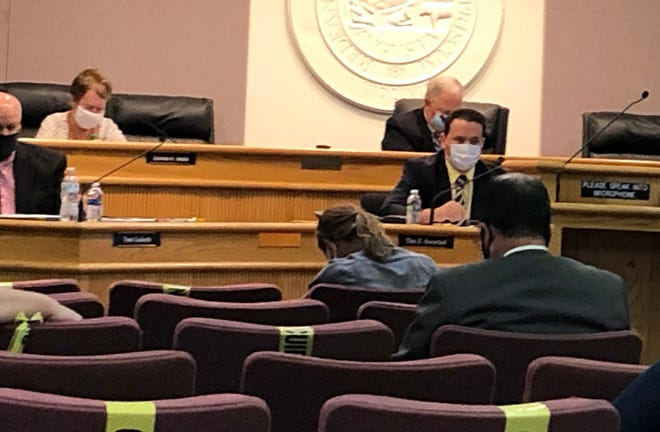 Augusta County School Board on Aug, 13 talks about school re-opening amid a pandemic.
