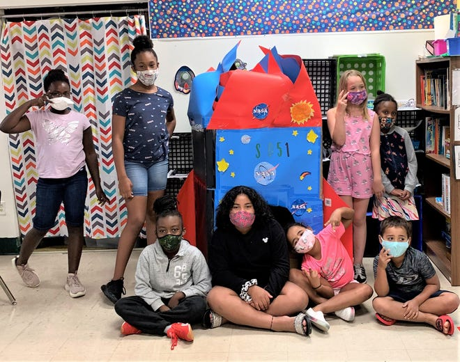 Boys and Girls Club of Cumberland County campers focused on spaceships, rockets and planets during Camp Discover and Full STEAM Ahead.