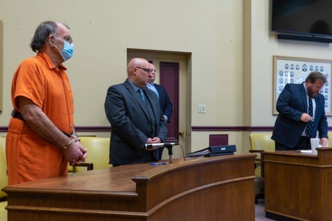 Dwight Taylor listens to Judge Mark Fleegle explain the details of his sentence Thursday morning.
