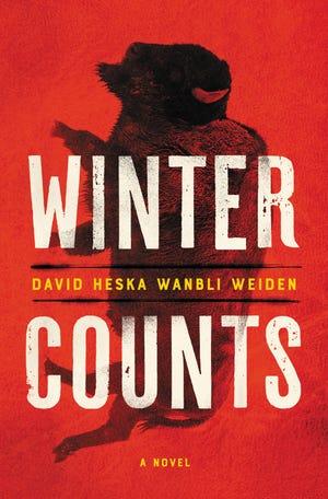 """""""Winter Counts,"""" by David Heska Wanbli Weiden."""