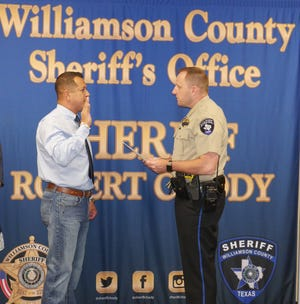 Williamson County Sheriff Robert Chody promoted Mark Luera to detective in March 2019, about 18 months after he joined the department. Months later, he promoted him to lieutenant over the department's troubled training academy.
