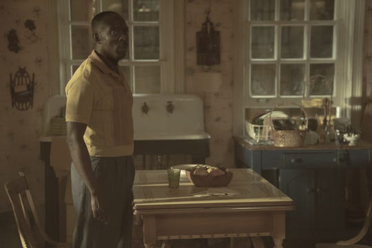 "Michael Kenneth Williams plays Atticus' estranged father Montrose Freeman in ""Lovecraft Country."""