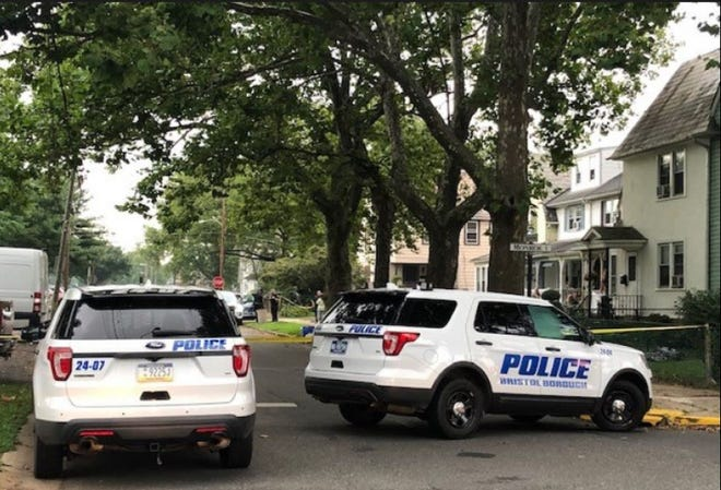 Bristol Borough police are investigating the death of a man in the 1500 block of Trenton Avenue. The man was found dead Thursday. [PHOTO COURTESY OF BRISTOL BOROUGH POLICE]