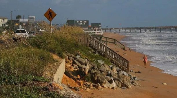 Flagler Beach resident's GoFundMe drive aims to payoff holdouts blocking dune restoration.