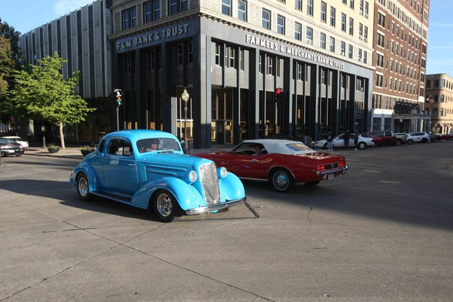 """Cruise Night is 5 to 9 p.m. on Jefferson Street. Classic cars and hot rods of all ages will cruise """"the strip."""""""