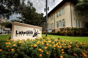 Lakeland City Hall in Lakeland Fl. Thursday August 13, 2020. ERNST PETERS/THE LEDGER
