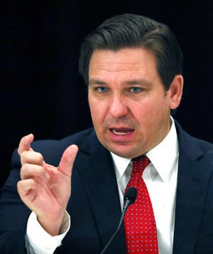 Gov. Ron DeSantis and the Florida Legislature face heightened budget pressure as state tax collections are revised downward because of the pandemic.