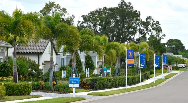 Indigo is a new community in east Lakewood Ranch. In the U.S., the average home price in May rose 4.2% compared to a year ago.