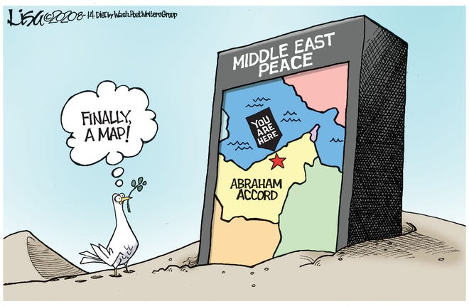 A map to Middle East Peace