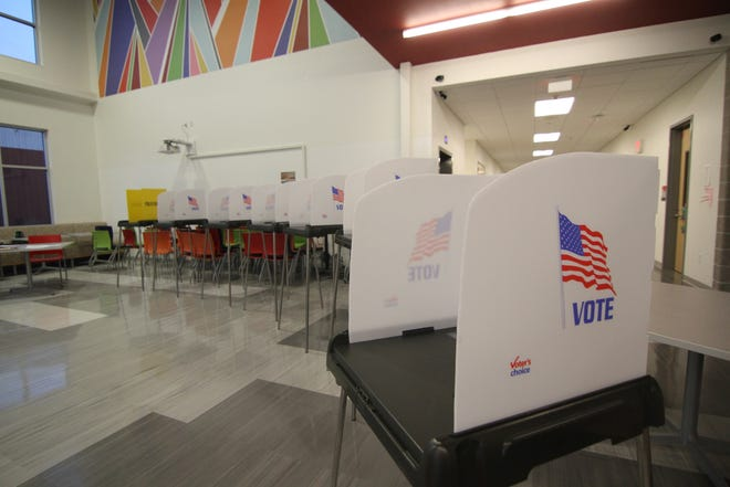 Early voting begins Oct. 15 in the 2020 presidential election.