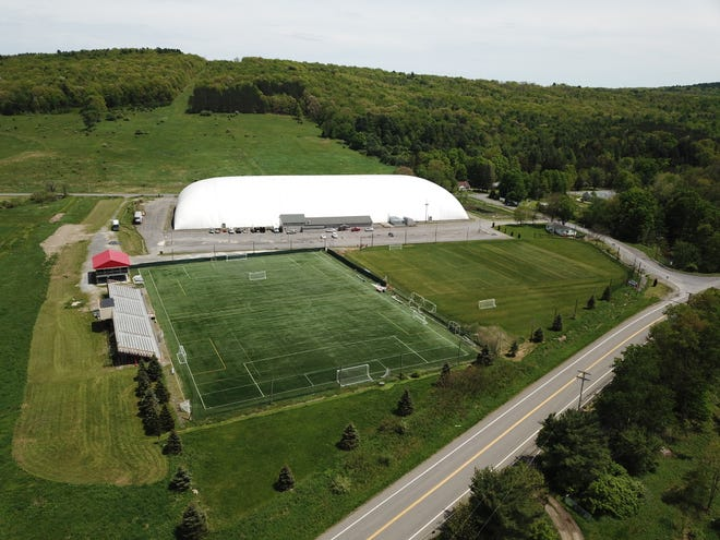 The Greater Binghamton Sports Complex is located at 1500 Airport Rd. in Johnson City.