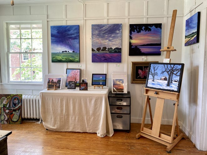 The Swannanoa Valley Fine Arts League reopened its doors to the public July 17.
