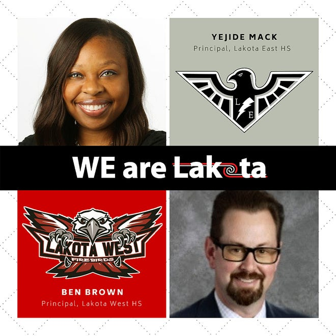Ben Brown will become Lakota West High School's principal while Yejide Mack has been named principal at Lakota East High School.
