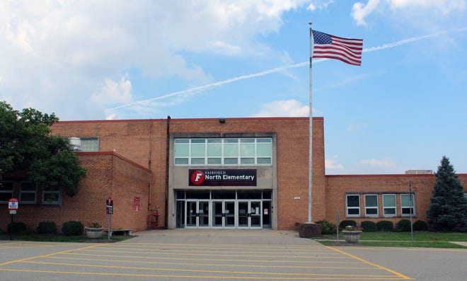 Fairfield North Elementary School was one of four where ventilation systems were improved after consultants found slightly elevated levels of carbon dioxide and moderate particulate matter levels. Photo: