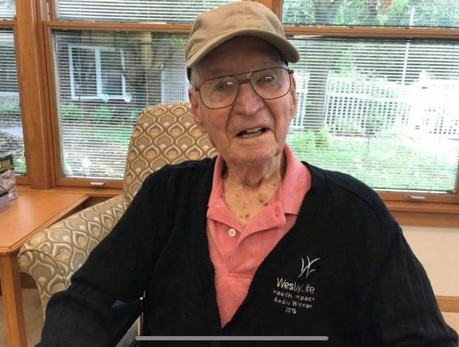 Robert Clark served in World War II from 1943 to 1945. For five months in 1945, he was a prisoner of war in Germany.