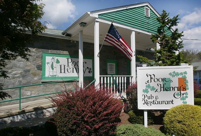 Poor Henry's pub in Montville. 2012.