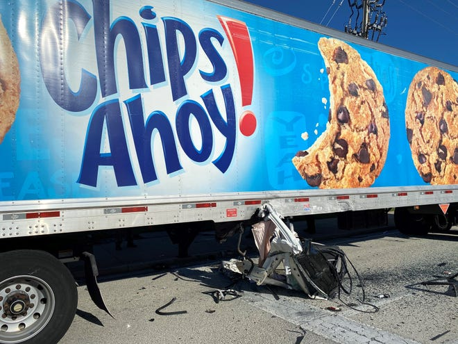 The driver of a sedan was killed in a collision with a tractor-trailer at the intersection of U.S. 41 and Immokalee Road on Aug. 14, 2020, according to the Florida Highway Patrol.