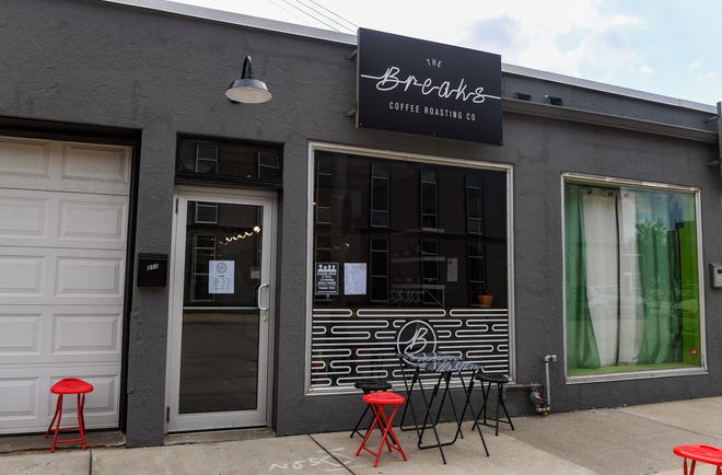 The Breaks coffee shop is ready to open on Friday, August 14, in downtown Sioux Falls.