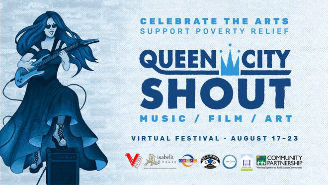 The 10th annual Queen City Shout festival will be a week-long virtual event this year, beginning Monday.