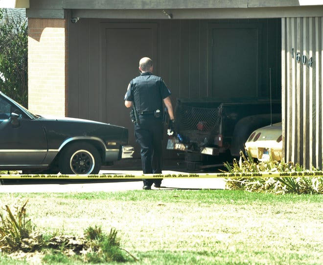 Wichita Falls police investigate two deceased people found inside home.