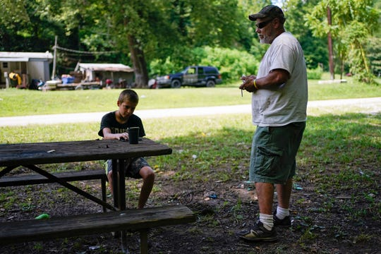 John Ross and his son David talk about their concerns for school reopening in the fall.