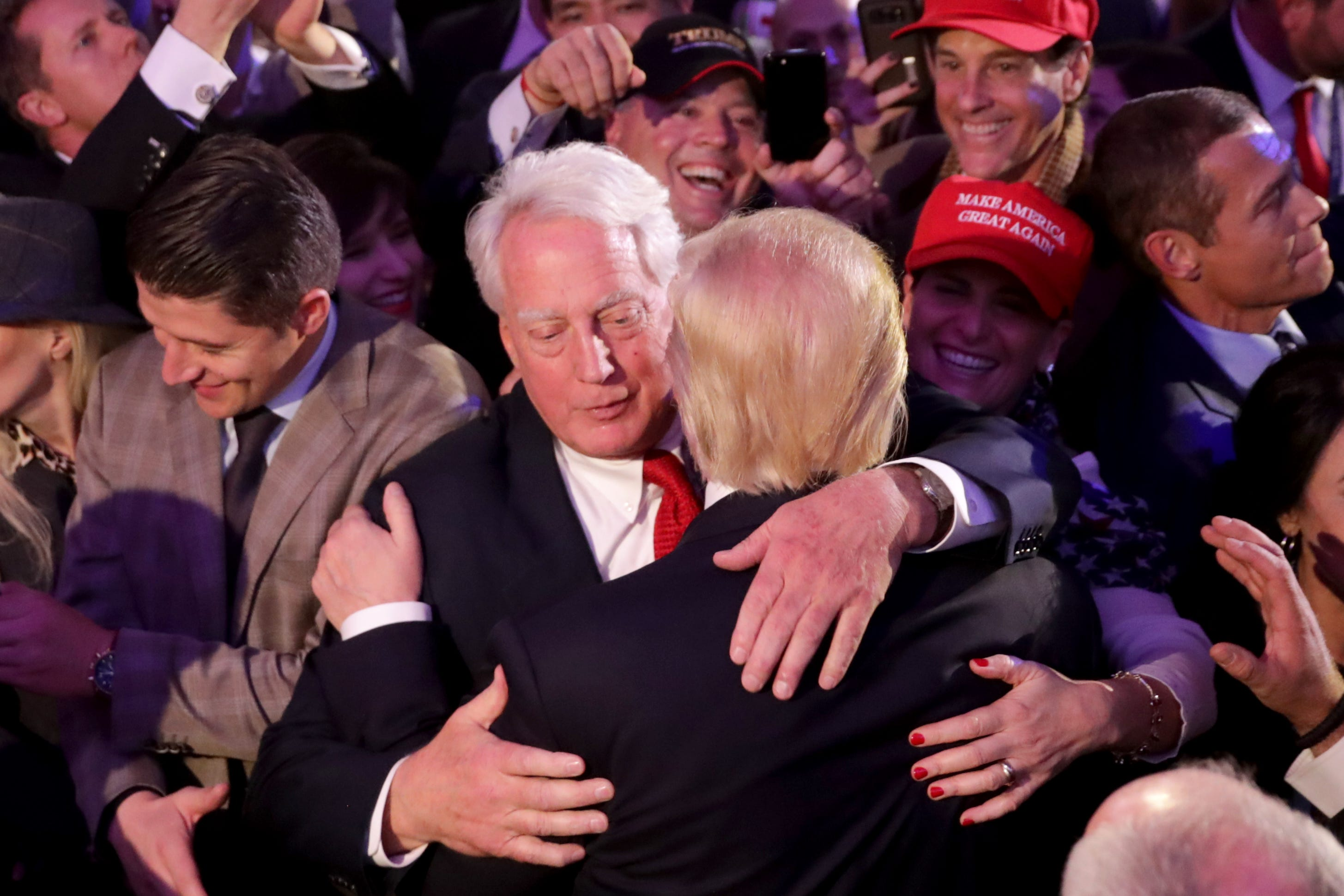 Having a hard time.  President Trump s brother Robert is hospitalized  in New York