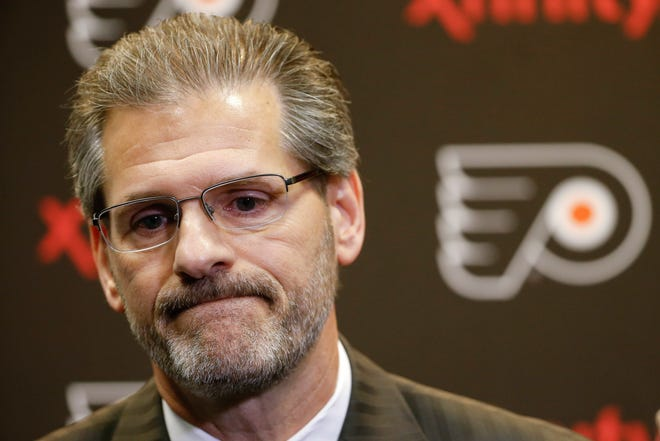Former general manager Ron Hextall helped set the stage for the Flyers' resurgence.